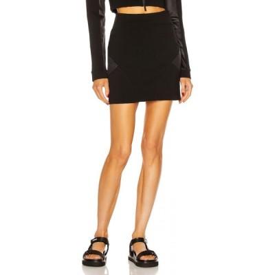 モンクレール Moncler レディース ミニスカート スカート Mini Skirt Black