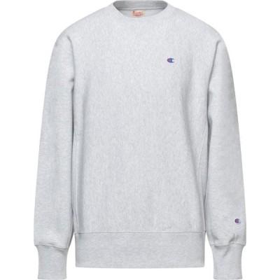チャンピオン CHAMPION メンズ スウェット・トレーナー トップス Sweatshirt Light grey