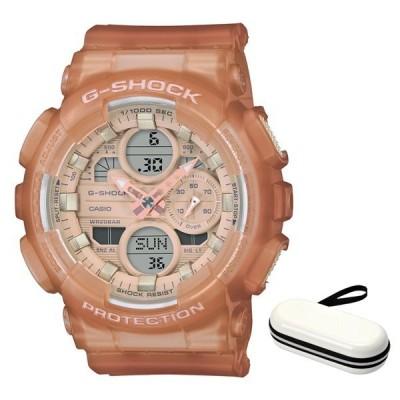 (時計ケースセット)(カシオ)CASIO 腕時計 GMA-S140NC-5A1JF (ジーショック)G-SHOCK メンズ レディース ミッドサイズ 樹脂バンド クオーツ(国内正規品)