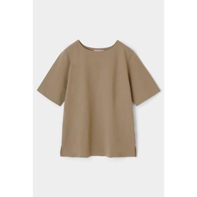 PLATE HALF SLEEVE Tシャツ BEG