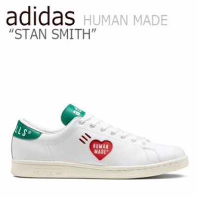 アディダス スタンスミス スニーカー adidas STAN SMITH HUMAN MADE スタン スミス ヒューマン メイド WHITE GREEN FY0734 シューズ