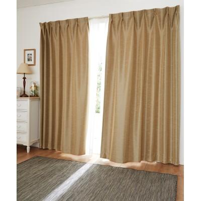 【送料無料!】木目調遮光・防炎カーテン ドレープカーテン(遮光あり・なし) Curtains, blackout curtains, thermal curtains, Drape(ニッセン、nissen)