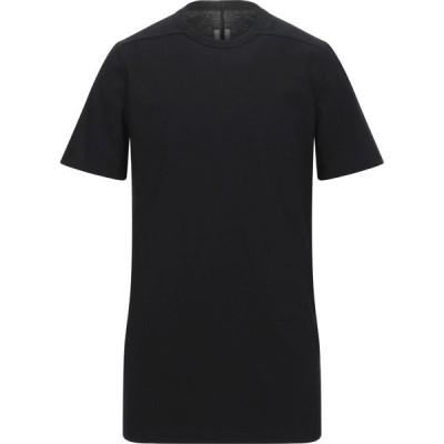 リック オウエンス RICK OWENS メンズ Tシャツ トップス T-Shirt Black