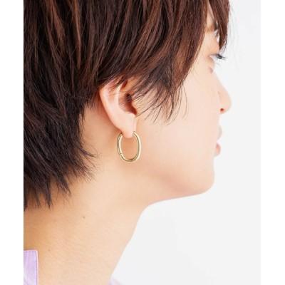perky room / 《trim》メタルフープピアス WOMEN アクセサリー > ピアス(両耳用)