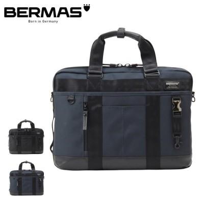 バーマス ビジネスバッグ 3WAY リュック A4 バウアーIII メンズ 60329 BERMAS | ブリーフケース ショルダーバッグ キャリーオン 撥水