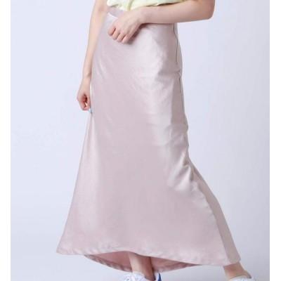【アトモス ピンク/atmos pink】 atmos pink 無地サテン スカート PINK 19SP-I