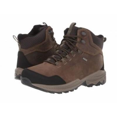 Merrell メレル メンズ 男性用 シューズ 靴 ブーツ ハイキング トレッキング Forestbound Mid Waterproof Cloudy【送料無料】