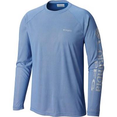 (取寄)コロンビア メンズ ターミナル ディフレクター ロングスリーブ シャツ Columbia Men's Terminal Deflector LS Shirt Vivid Blue /