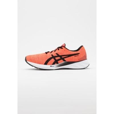 アシックス シューズ メンズ ランニング ROADBLAST - Neutral running shoes - sunrise red/black