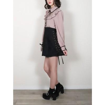 ロジータ ROJITA Flowerレーススカート (ブラック)