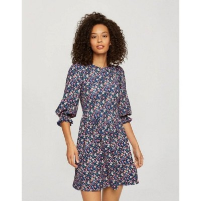 ミスセルフフリッジ レディース ワンピース トップス Miss Selfridge smock dress in purple floral