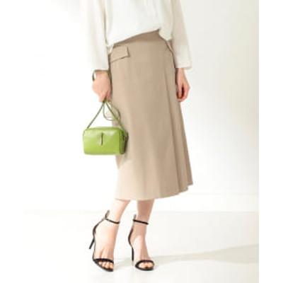 Demi-Luxe BEAMS / フラップポケット タイトスカート