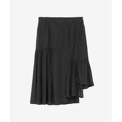 <IMPORT BRAND(Women)/インポートブランド> 大きいサイズ Zero Degrees Celsius レイヤードスカート ブラック【三越伊勢丹/公式】