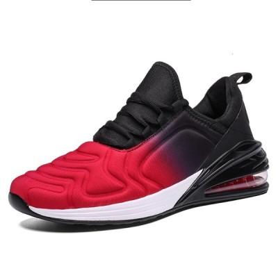 2020ホットスタイルのファッションライクラスニーカー男性のカジュアルな男性の靴大人のTenisブランドの新しいユニセック Black Red 9.5