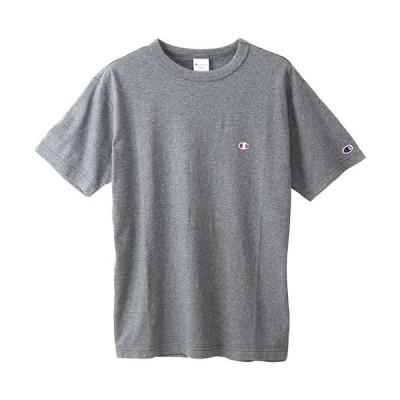 チャンピオン(Champion) メンズ ベーシック Tシャツ ヘザーチャコール C3-P300 089 半袖 トップス スポーツウェア カジュアル ティーシャツ