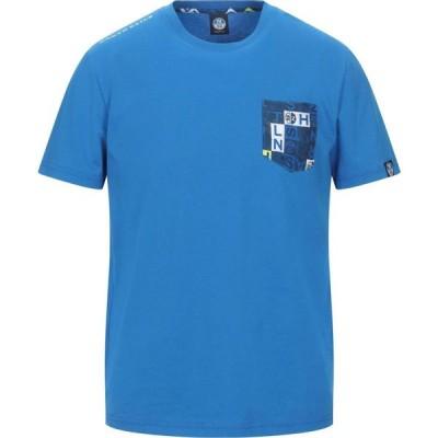 ノースセール NORTH SAILS メンズ Tシャツ トップス t-shirt Bright blue