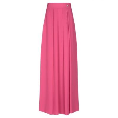 クラス ロベルト カヴァリ CAVALLI CLASS ロングスカート フューシャ 40 ポリエステル 100% ロングスカート