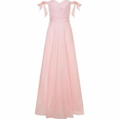 チチ Chi Chi レディース パーティードレス マキシ丈 ワンピース・ドレス Bardot Bow Detail Maxi Dress Pink
