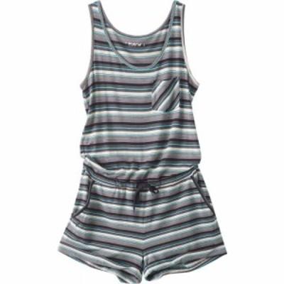 カブー KAVU レディース オールインワン ワンピース・ドレス Doris Romper Carbon Stripe