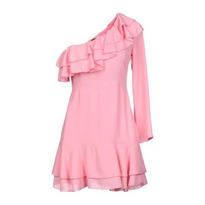 デニーローズ DENNY ROSE ミニワンピース&ドレス ピンク 40 ポリエステル 100% ミニワンピース&ドレス