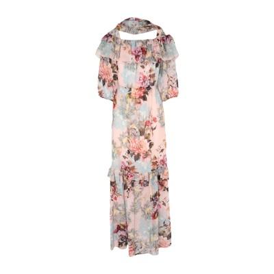 MARTA STUDIO ロングワンピース&ドレス ライトピンク 44 シルク 100% ロングワンピース&ドレス