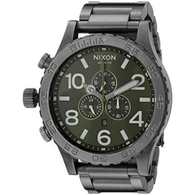 ニクソン 腕時計 メンズウォッチ Nixon Men's A0832069 51-30 Chrono Analog Display Japanese Quartz Grey Watch