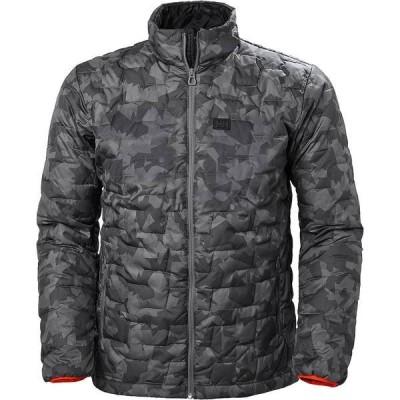 ヘリーハンセン ジャケット&ブルゾン メンズ アウター Lifaloft Insulator Jacket - Men's Charcoal Camo