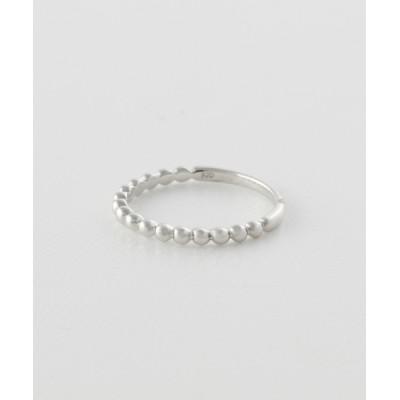 指輪 リング ボールライン/ホワイトゴールド