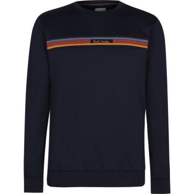 ポールスミス Paul Smith メンズ スウェット・トレーナー トップス New Stripe Sweatshirt Navy