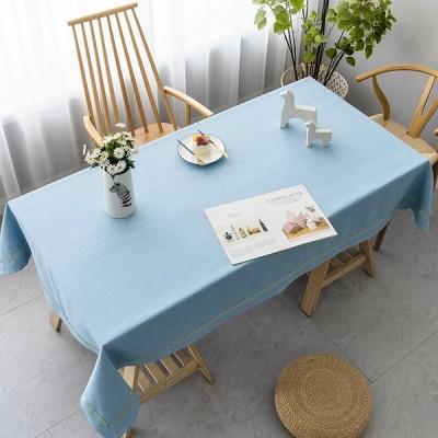 テーブルクロス 北欧風 無地 シンプル 厚手 防塵 耐熱 長方形 正方形 テーブルカバー ティーテーブル コーヒーテーブル インテリア 台所