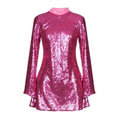 パロッシュ P.A.R.O.S.H. ミニワンピース&ドレス フューシャ S ポリエステル 100% / ポリ塩化ビニル ミニワンピース&ドレス