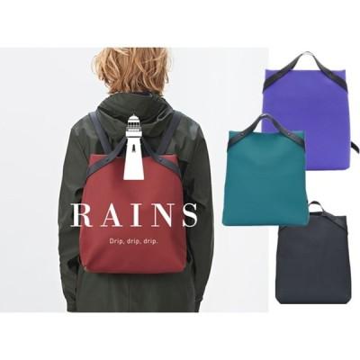 RAINS レインズ  バックパック リュック メンズ rains   bag  レインズ バッグ 防水