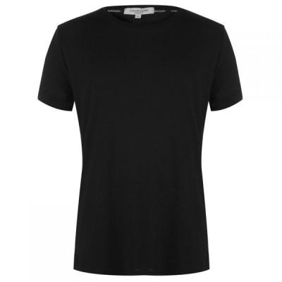 カルバンクライン Calvin Klein メンズ Tシャツ トップス Tee Black