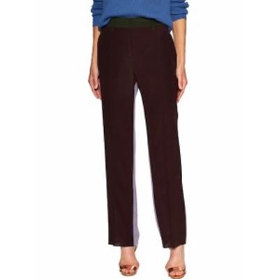 ヴァレンティノ レディース パンツ Colorblocked Flat Front Pant