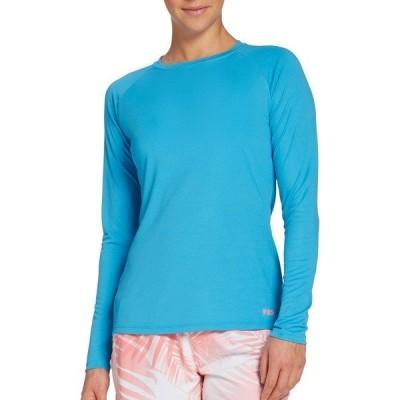 フィールドアンドストリーム シャツ トップス レディース Field & Stream Women's Tech Long Sleeve Shirt MalibuBlue