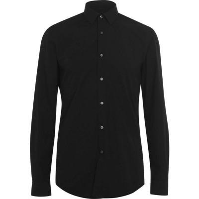 ヒューゴ ボス Boss メンズ シャツ トップス Isko Textured Shirt Black