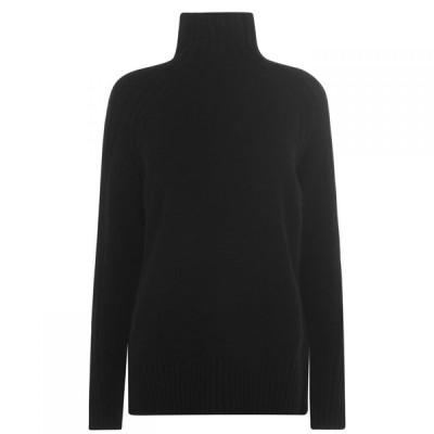 ラルフ ローレン Polo Ralph Lauren レディース ニット・セーター トップス Knitted Jumper Polo Black