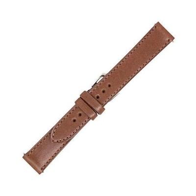 アメリカ製 - イングリッシュブライドルレザー - フラット縫製 - 腕時計ベルトバンド - ゴールドとシルバーのバックル付き - お求めいただけます