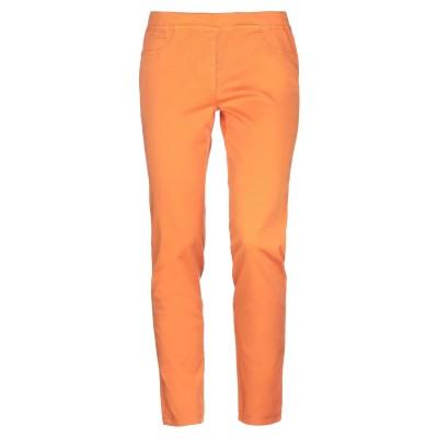 ブルー レ・コパン BLUE LES COPAINS パンツ オレンジ 46 コットン 97% / ポリウレタン 3% パンツ