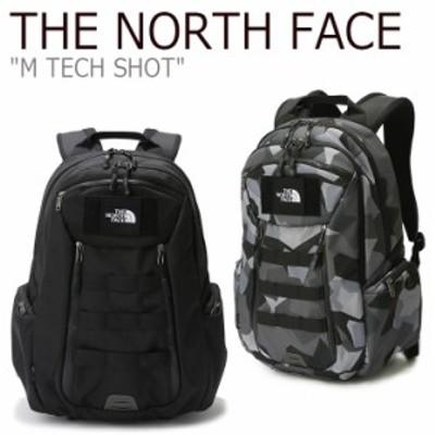 ノースフェイス バックパック THE NORTH FACE メンズ レディース M TECH SHOT テク ショット グレー ブラック NM2DK07A/B バッグ