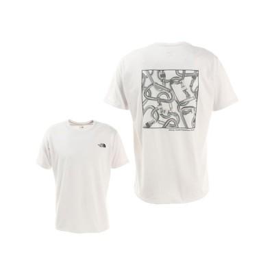 ノースフェイス(THE NORTH FACE) CARABINER 半袖Tシャツ NT32084 W (メンズ)