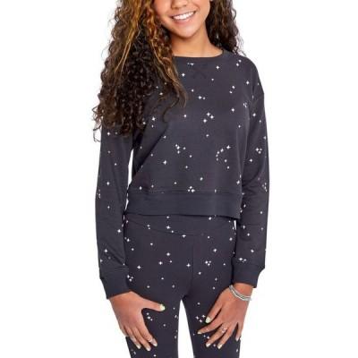 スプレンディット レディース シャツ トップス Juniors' Jada Star-Print Sweatshirt