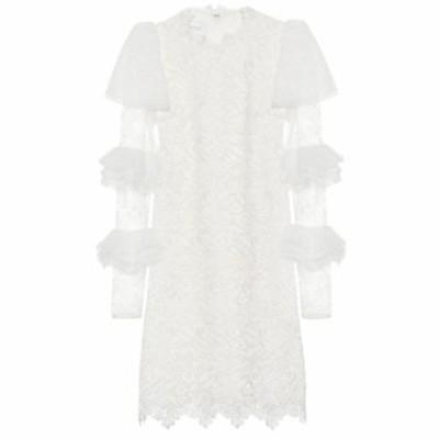 ジャンバティスタ バリ Giambattista Valli レディース ワンピース ワンピース・ドレス Lace minidress Ivoire