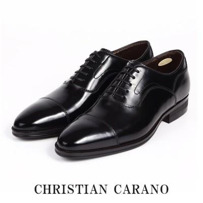 CHRISTIAN CARANO クリスチャンカラノ TK-864 ビジネスシューズ - 本革 ストレートチップ スワールトゥ 内羽根 3E