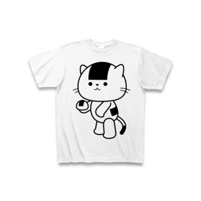 おむすびねこ Tシャツ(ホワイト)