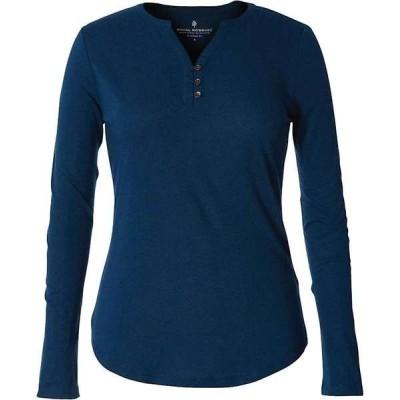 ロイヤルロビンズ レディース シャツ トップス Royal Robbins Women's Merinolux Henley LS Shirt