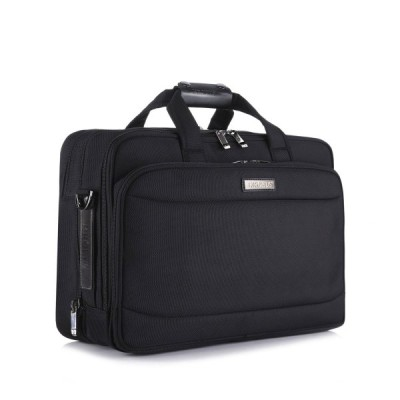 Sale  クロース(Kroeus)超大容量ビジネスバッグ マチ拡張 2wayで使い 出張 通勤 15.6インチ型PC B4サイズ 鍵付き ショルダーベルト付き オックス製