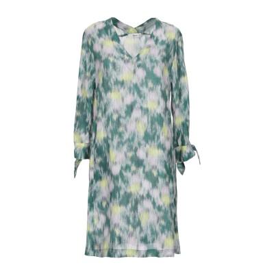 マウロ グリフォーニ MAURO GRIFONI ミニワンピース&ドレス グリーン 42 レーヨン 70% / シルク 30% ミニワンピース&ドレス