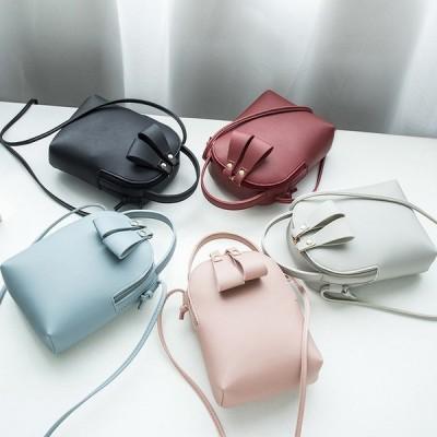 ミニショルダーバッグ ショルダーバッグ PUレザー レディース 女性用 バッグ カバン 鞄 かばん ミニサイズ ミニ マチ 箱型 ショルダー 無地 シ