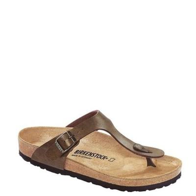 ビルケンシュトック レディース サンダル シューズ Gizeh Adjustable Strap Thong Sandals